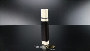 Picture of Ebony Handle For Deba W. White Bolster & Three Silver Rings