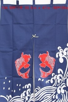 "Picture of ML2 ""Koi Fish"" Decorative Curtain Style-2 (509)"