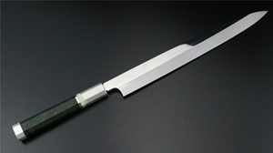 Picture of Akazawa Fuji Mountain Full Moon Shiro-Ko Honyaki Yanagi 270mm (Genkai) ( Sold Out , Pre-orderable )
