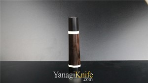 Picture of Ebony Double White Ring for Miroshi-Deba