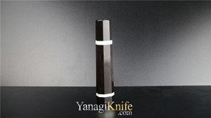 Picture of Ebony Double White Ring for Mukimono