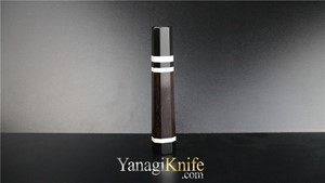 Picture of Ebony Triple White Ring For Kengata