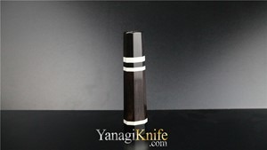 Picture of Ebony Triple White Ring For Miroshi-Deba