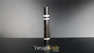 Picture of Ebony Triple White Ring For Takobiki