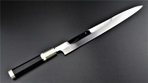 Picture of Akazawa Fuji Mountain Full Moon Shiro-Ko Honyaki Yanagi 300mm (Genkai) ( Sold Out , Pre-orderable )