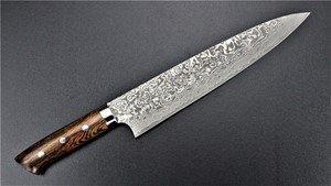 Picture of Takeshi Saji Damascus R2 Ironwood Gyuto